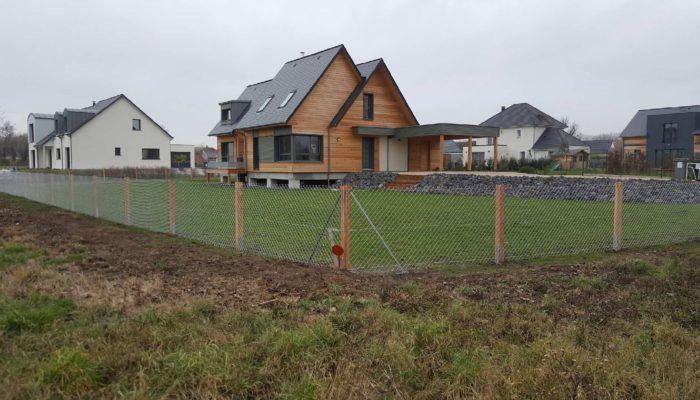 clôture simple torsion galvanisée