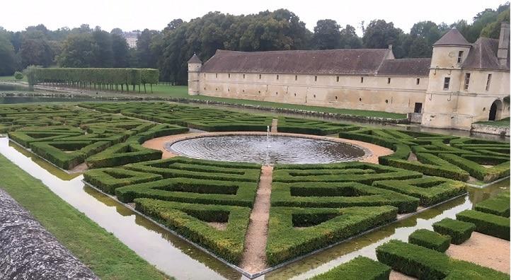 Domaine de Villarceaux - Le jardin sur l'eau