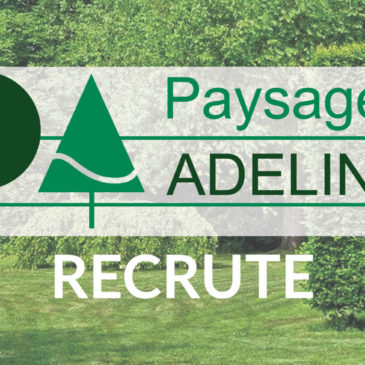 Paysages Adeline recrute…